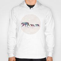 bears Hoodies featuring Bears by Watercolorist