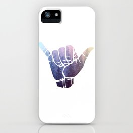 Rainbow Misty Forest Hang Loose iPhone Case