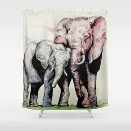 Oh, Hai Mom! Shower Curtain