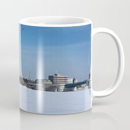 Toledo Fifth Third Bank Downtown in Winter Coffee Mug