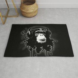 Monkey Business - Black Rug