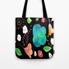 Japaneses midnight garden Tote Bag