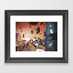 reality Framed Art Print