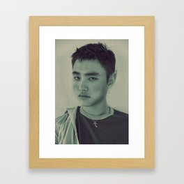 Elf Kyungsoo Framed Art Print