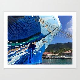Norwegian Cruise Swordfish Art Print