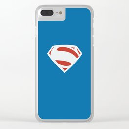 Val-Zod Earth 2 Superman Clear iPhone Case