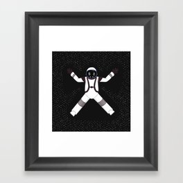 Spaceman Framed Art Print