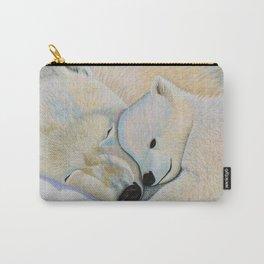 Polar Bear Love #2 Carry-All Pouch