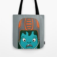 sports Tote Bags featuring Sports?! by Aron Gelineau