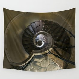 Circles and spirals Wall Tapestry