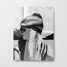 Tess  Metal Print