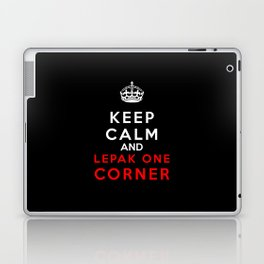 Keep Calm & Lepak One Corner Laptop & iPad Skin