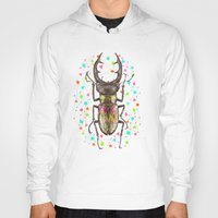 insect Hoodies featuring INSECT IV by dogooder