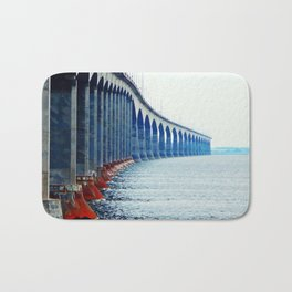 Confederation Bridge New-Brunswick Bath Mat