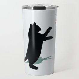 Cat and X-Wing Travel Mug
