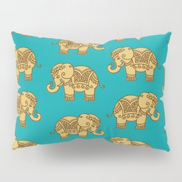 Elephant Pattern Pillow Sham
