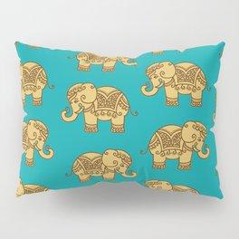 Elephant Pattern Pillow Sham