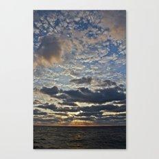 Sunrise at Sea I Canvas Print
