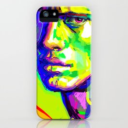 Jules Raynal Colors iPhone Case