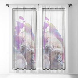 gorilla Sheer Curtain