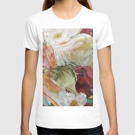 Motion flowers T-shirt