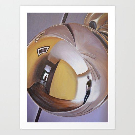 Doorknob #2 Art Print