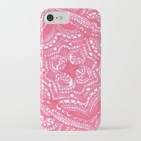 preppy iPhone & iPod Cases featuring Preppy Flower by Brenna Whitton