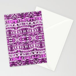 More Purple Pretty Designs Stationery Cards