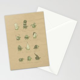 A Study of Turtles Stationery Cards