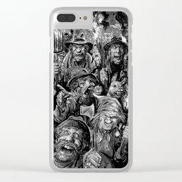 Frankenstein Villagers Clear iPhone Case