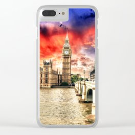 Power of London City Clear iPhone Case