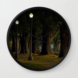 Fairmont Park Wall Clock