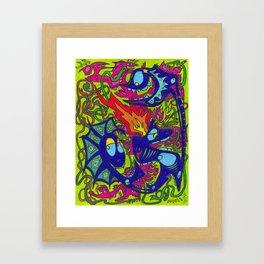 Hot Soup Framed Art Print