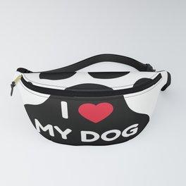 I LOVE MY DOG Fanny Pack