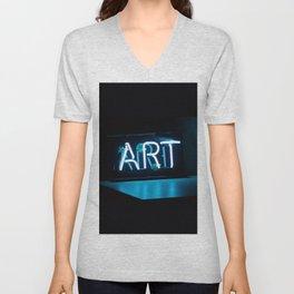 Art Neon Unisex V-Neck