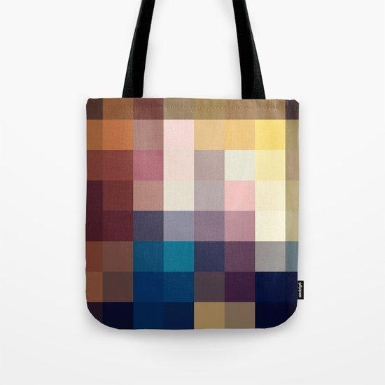 Nature Pixels No 3 Tote Bag