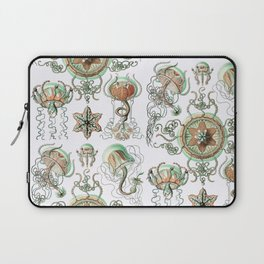 Ernst Haeckel - Trachomedusae (Jellyfish) Laptop Sleeve