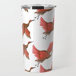 Cranes Travel Mug