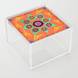 Talavera Tile Orange Acrylic Box