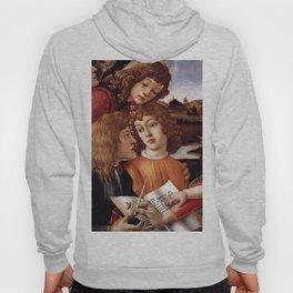 Sandro Botticelli - Angels 3. detail Hoody