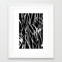 plant Framed Art Prints featuring plant by Anahuac