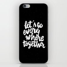 Everywhere iPhone Skin
