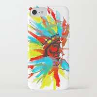 native american iPhone & iPod Cases featuring Native American by ART HOLES