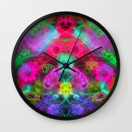 The Bulbous Mother Wall Clock