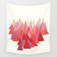 indian Wall Tapestries featuring Indian Summer by Cassia Beck