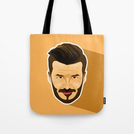 David Beckham Tote Bag