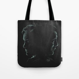"""Hannibal & Will - """"You and I have begun to blur"""" Tote Bag"""