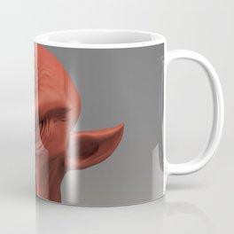 Cobold creature sculpt (red material) Coffee Mug