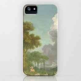 The Swing by Jean-Honoré Fragonard iPhone Case