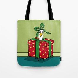 Eglantine la poule (the hen) is a gift Tote Bag